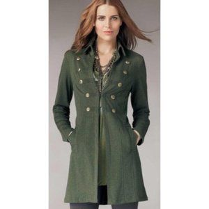 Cabi Cavallari military green knit jacket EUC S